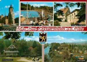 AK / Ansichtskarte Bad_Sobernheim Felke Bad Kurhaus Dhonau Camping Freibad J?disches Kinderheim Bad_Sobernheim
