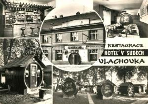 AK / Ansichtskarte Praha_Prahy_Prague Restaurant Hotel v Sudech Praha_Prahy_Prague