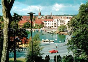 AK / Ansichtskarte Silkeborg Aussicht von Kildebakken Silkeborg