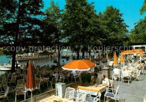 AK / Ansichtskarte Berlin Restaurant Pavillion St?lpchensee Berlin