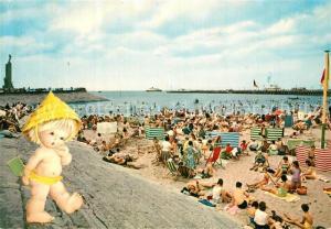 AK / Ansichtskarte Ostende_Oostende Strand
