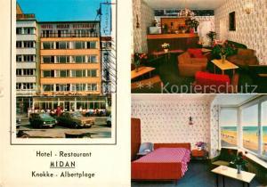 AK / Ansichtskarte Knokke Heist Hotel Restaurant Midan Knokke Heist