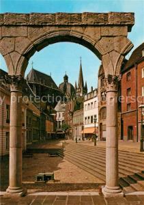 AK / Ansichtskarte Bad_Aachen R?mische Architektur in der Altstadt Bad_Aachen