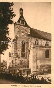 AK / Ansichtskarte Bergerac Eglise Saint Jacques Bergerac