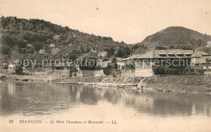 AK / Ansichtskarte Besancon_Doubs Le Mont Chaudane et Rosemont Besancon Doubs