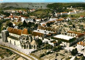 AK / Ansichtskarte Montier en Der Eglise Abbatiale et Haras National vue aerienne Montier en Der