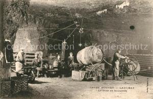 AK / Ansichtskarte Wein Caves Bouvet Ladubay Mise en Bouteilles  Wein