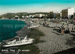 AK / Ansichtskarte Gabicce_Mare Spiaggia Strand Hotels Gabicce Mare