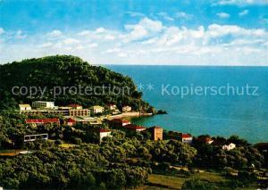AK / Ansichtskarte Petrovac_na_moru Panorama Kuestenstadt Petrovac_na_moru