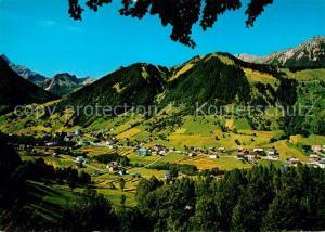 AK / Ansichtskarte Brand_Vorarlberg Panorama mit Niggenkopf Alpen Brand Vorarlberg