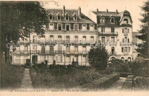 AK / Ansichtskarte Luxeuil les Bains Hotels du Parc   Luxeuil les Bains