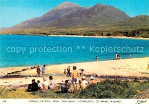 AK / Ansichtskarte Louisburgh Beach from Old Head