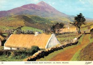 AK / Ansichtskarte Westport_Mayo Panorama Croagh Patrick Mountain Westport_Mayo