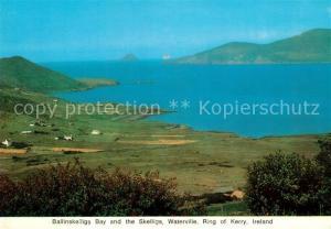 AK / Ansichtskarte Waterville Ballinskelligs Bay and the Skelligs