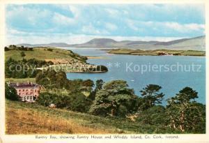 AK / Ansichtskarte Whiddy_Island Bantry Bay showing Bantry House