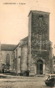 AK / Ansichtskarte Labouheyre Eglise Labouheyre