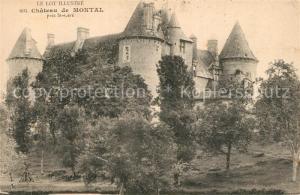 AK / Ansichtskarte Saint Cere Chateau de Montal Saint Cere