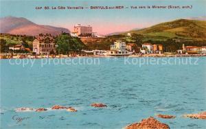 AK / Ansichtskarte Banyuls sur Mer Panorama Miramar Banyuls sur Mer