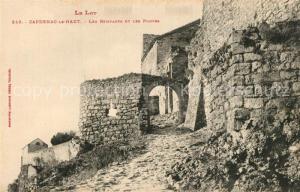 AK / Ansichtskarte Capdenac Les Remparts les portes Capdenac