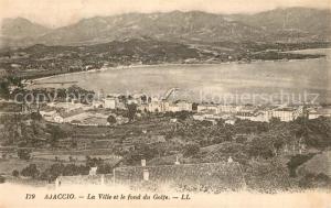 AK / Ansichtskarte Ajaccio La Ville fond du Golfe Ajaccio
