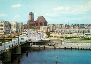 AK / Ansichtskarte Szczecin_Stettin Panorama od strony Odry Szczecin_Stettin