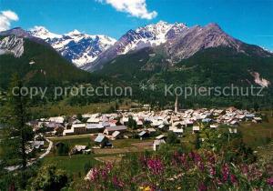AK / Ansichtskarte Le_Monetier les Bains Vue generale Hautes Alpes Le_Monetier les Bains