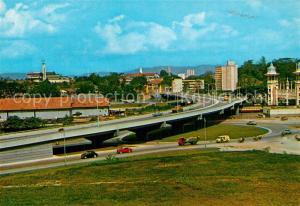 AK / Ansichtskarte Kuala_Lumpur Highway view taken from Beach Road to Jalan Sultan Hishamuddin Kuala_Lumpur