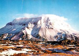 AK / Ansichtskarte Island Mount Heroubreid Landschaftspanorama Berge Island
