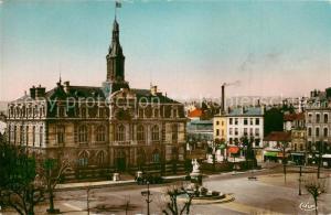 AK / Ansichtskarte Roanne_Loire Place de l'Hotel de Ville et l'Hotel de Ville Roanne Loire