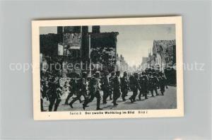 AK / Ansichtskarte Militaria_Deutschland_WK2 Von N?rnberg bis Stalingrad Vormarsch Eilebrecht Zigaretten
