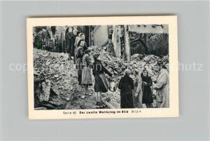 AK / Ansichtskarte Militaria_Deutschland_WK2 Von N?rnberg bis Stalingrad Potsdam Eilebrecht Zigaretten
