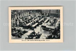 AK / Ansichtskarte Militaria_Deutschland_WK2 Von N?rnberg bis Stalingrad Potsdam Urteil von S?hne Eilebrecht Zigaretten