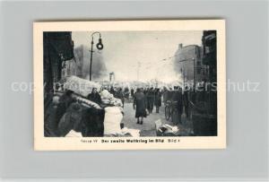 AK / Ansichtskarte Militaria_Deutschland_WK2 Von N?rnberg bis Stalingrad Das Ende Bomben auf Berlin Eilebrecht Zigaretten