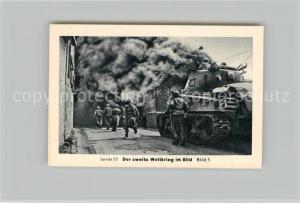 AK / Ansichtskarte Militaria_Deutschland_WK2 Von N?rnberg bis Stalingrad Vorstoss ?ber den Rhein Remagen Eilebrecht Zigaretten