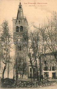 AK / Ansichtskarte Prades_Pyrenees Orientales Clocher Prades