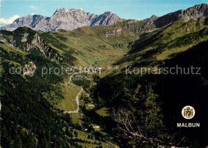 AK / Ansichtskarte Malbun Panorama Malbuntal Alpenpanorama Malbun