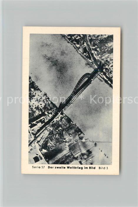AK / Ansichtskarte Militaria_Deutschland_WK2 Von Stalingrad bis N?rnberg Vorstoss ?ber den Rhein Remagen Br?cke  Eilebrecht Zigaretten  0