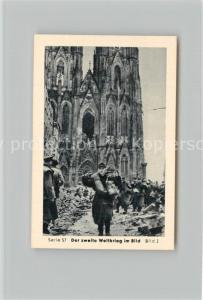 AK / Ansichtskarte Militaria_Deutschland_WK2 Von Stalingrad bis N?rnberg Vorstoss ?ber den Rhein Remagen Einnahme von K?ln Eilebrecht Zigaretten