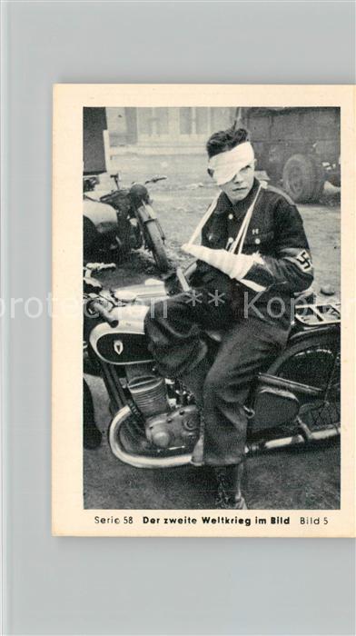 AK / Ansichtskarte Militaria_Deutschland_WK2 Von Stalingrad bis N?rnberg Das letzte Aufgebot Kriegsverbrechen  Eilebrecht Zigaretten  0