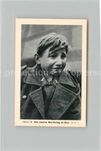 AK / Ansichtskarte Militaria_Deutschland_WK2 Von Stalingrad bis N?rnberg Das letzte Aufgebot Kinder als Soldaten Eilebrecht Zigaretten