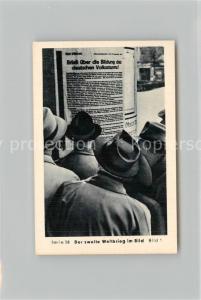 AK / Ansichtskarte Militaria_Deutschland_WK2 Von Stalingrad bis N?rnberg Das letzte Aufgebot Volkssturm Eilebrecht Zigaretten