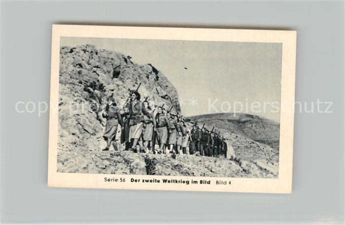 AK / Ansichtskarte Militaria_Deutschland_WK2 Von Stalingrad bis N?rnberg Zusammenbruch auf dem Balkan Aufgabe von Griechenland Eilebrecht Zigaretten  0