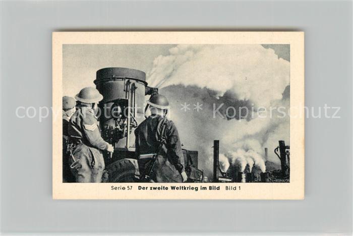 AK / Ansichtskarte Militaria_Deutschland_WK2 Von Stalingrad bis N?rnberg Vorstoss ?ber den Rhein Remagen Letzte Offensive Eilebrecht Zigaretten  0