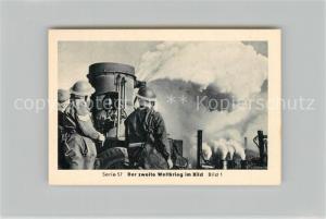 AK / Ansichtskarte Militaria_Deutschland_WK2 Von Stalingrad bis N?rnberg Vorstoss ?ber den Rhein Remagen Letzte Offensive Eilebrecht Zigaretten