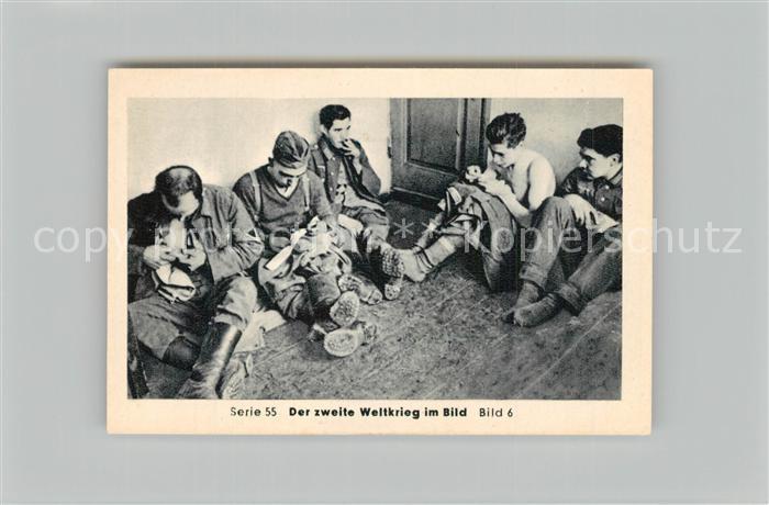 AK / Ansichtskarte Militaria_Deutschland_WK2 Von Stalingrad bis N?rnberg Kriegsgefangene in Russland Inspektion Eilebrecht Zigaretten  0