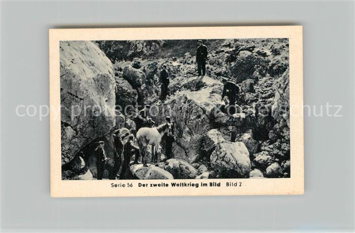 AK / Ansichtskarte Militaria_Deutschland_WK2 Von Stalingrad bis N?rnberg Zusammenbruch auf dem Balkan R?ckzug aus Albanien Eilebrecht Zigaretten  0