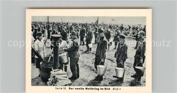 AK / Ansichtskarte Militaria_Deutschland_WK2 Von Stalingrad bis N?rnberg Kriegsgefangene in Russland Sammellager Eilebrecht Zigaretten  0