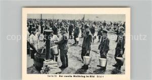 AK / Ansichtskarte Militaria_Deutschland_WK2 Von Stalingrad bis N?rnberg Kriegsgefangene in Russland Sammellager Eilebrecht Zigaretten