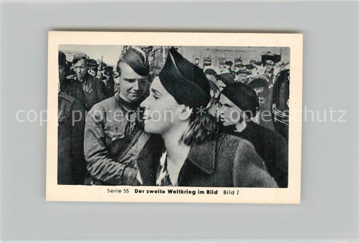 AK / Ansichtskarte Militaria_Deutschland_WK2 Von Stalingrad bis N?rnberg Kriegsgefangene in Russland Volkswut Eilebrecht Zigaretten  0
