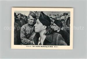 AK / Ansichtskarte Militaria_Deutschland_WK2 Von Stalingrad bis N?rnberg Kriegsgefangene in Russland Volkswut Eilebrecht Zigaretten
